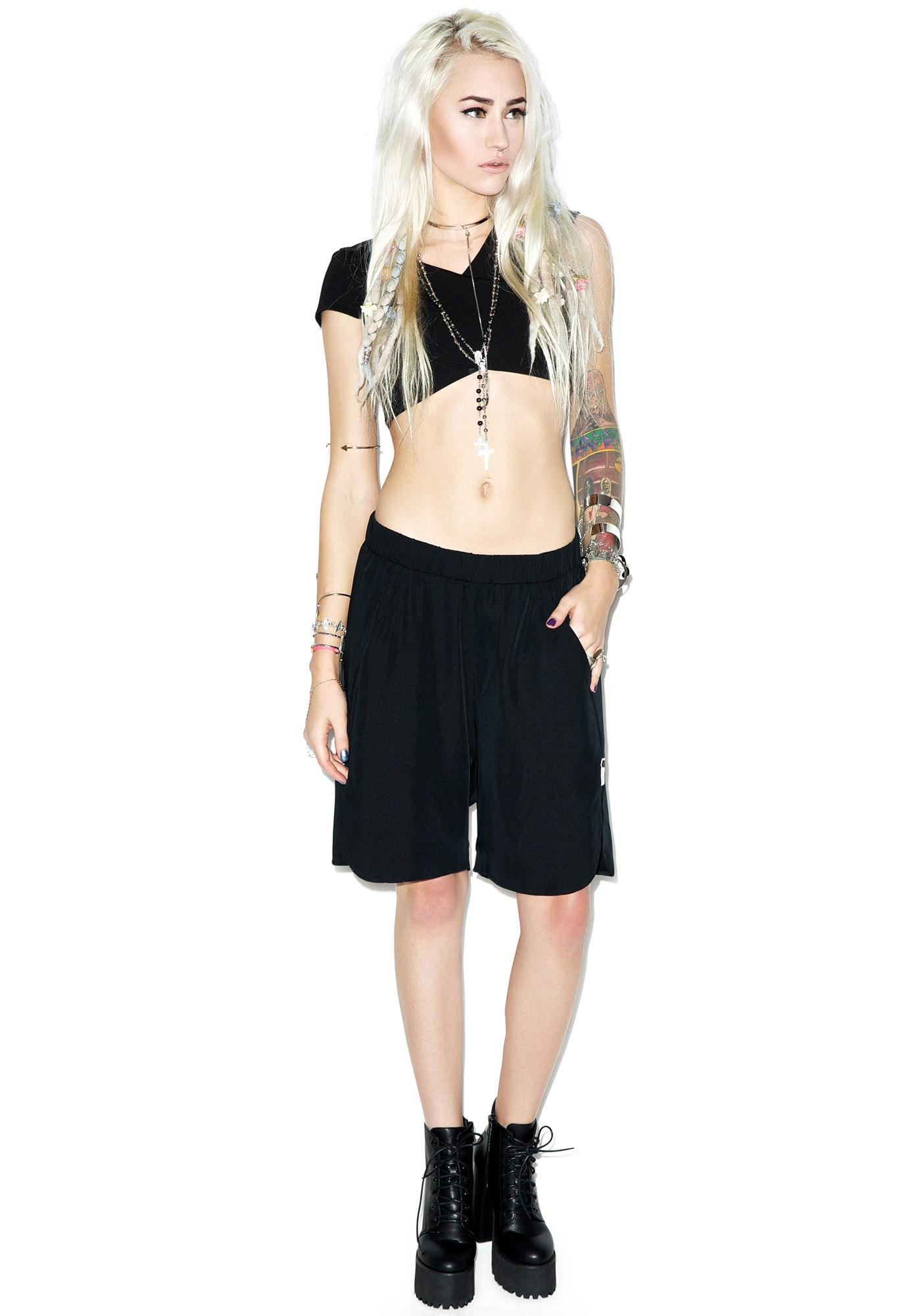 One Teaspoon La Ruby Slouch Shorts