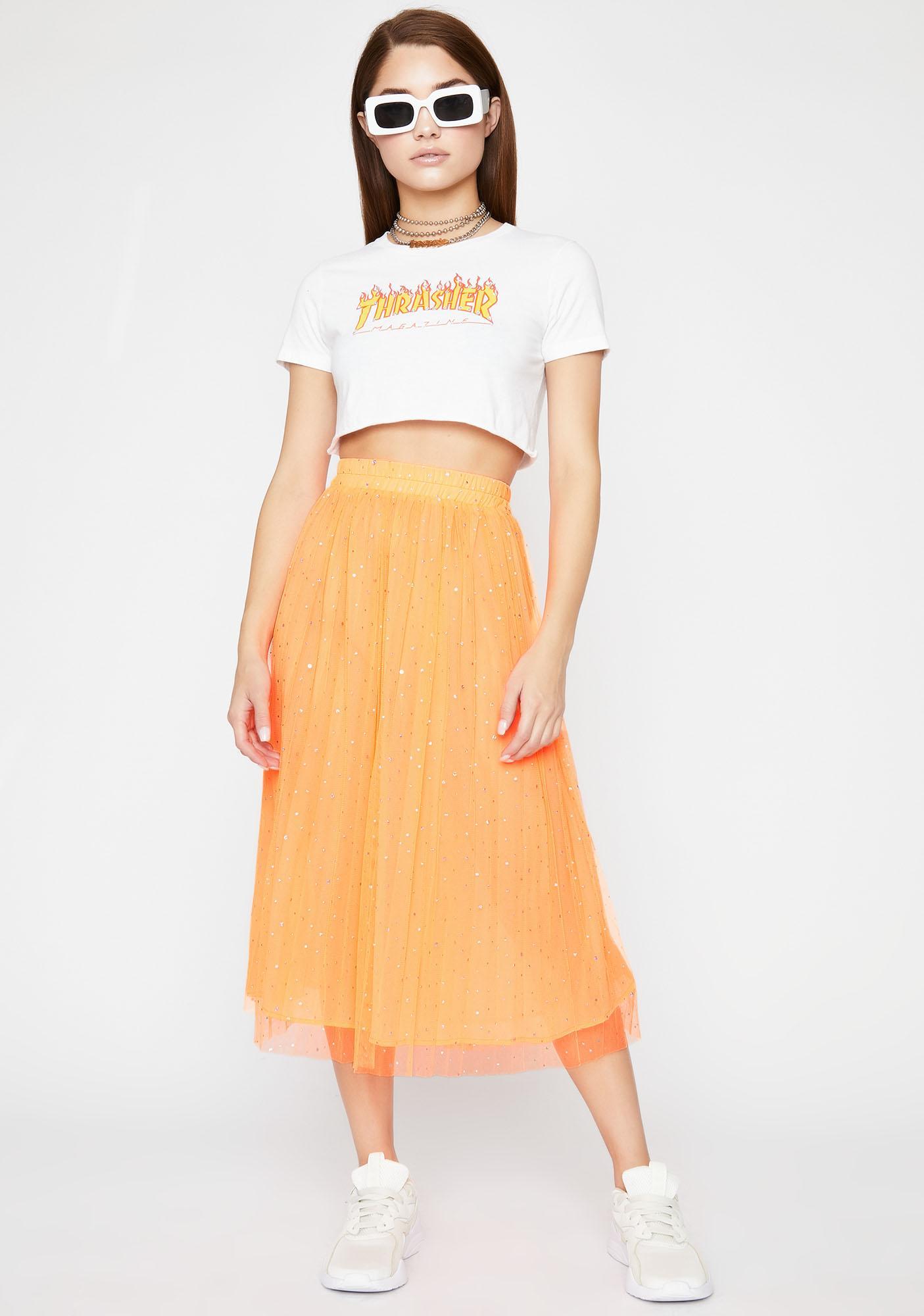 Mimosa Dream Galaxy Tulle Skirt