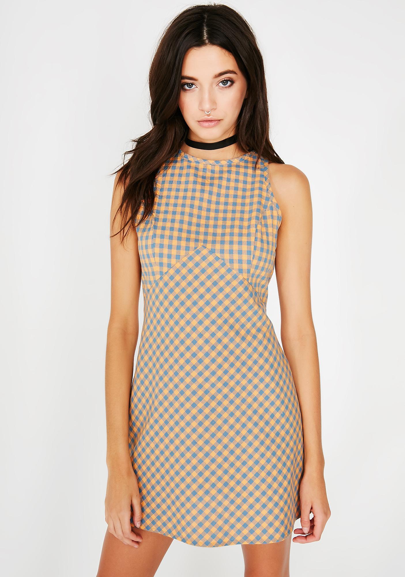 Always Right Plaid Dress
