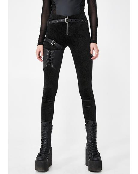 Ada Ventura Belted Leggings
