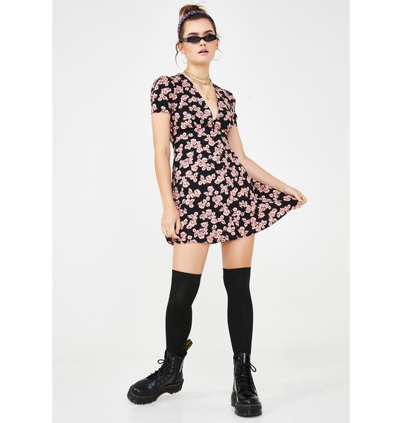 Daisy Crazy Floral Dress
