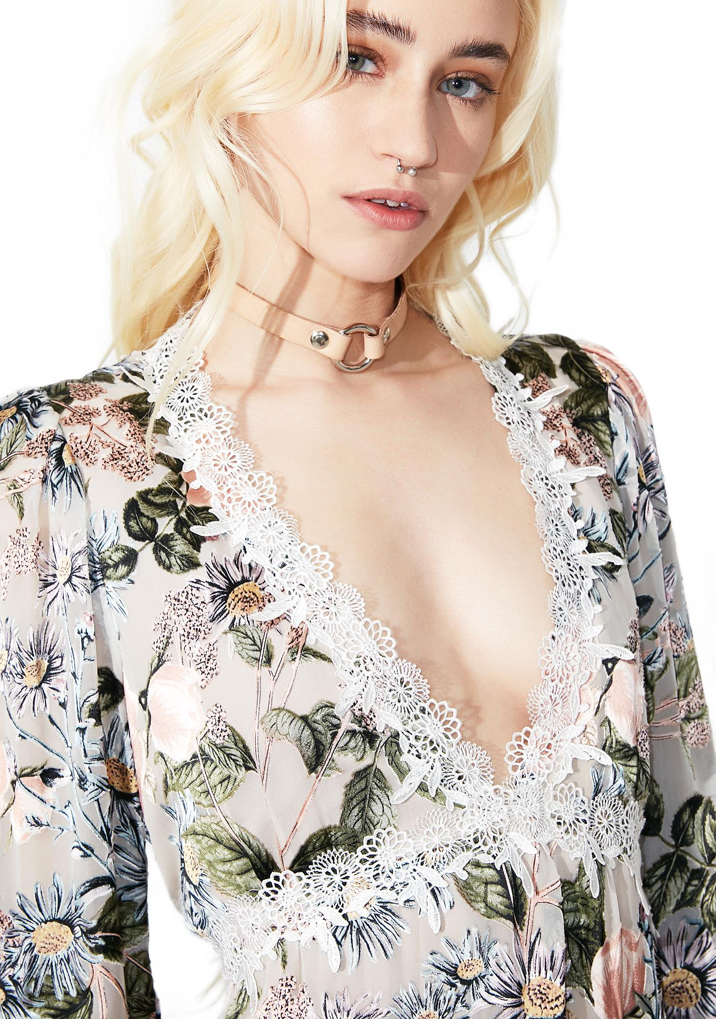 For Love & Lemons Luciana Swing Dress
