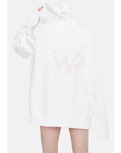 Toxic Oversize Cotton Zip Up Hoodie