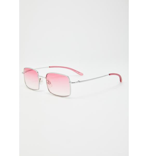 Replay Vintage Sunglasses Sweet Fashion Law Square Sunglasses