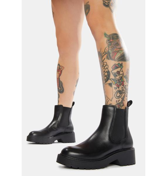 Steve Madden Trap Leather Chelsea Boots
