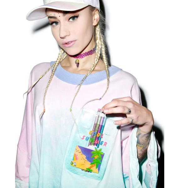 Mamadoux Back To Art School Top