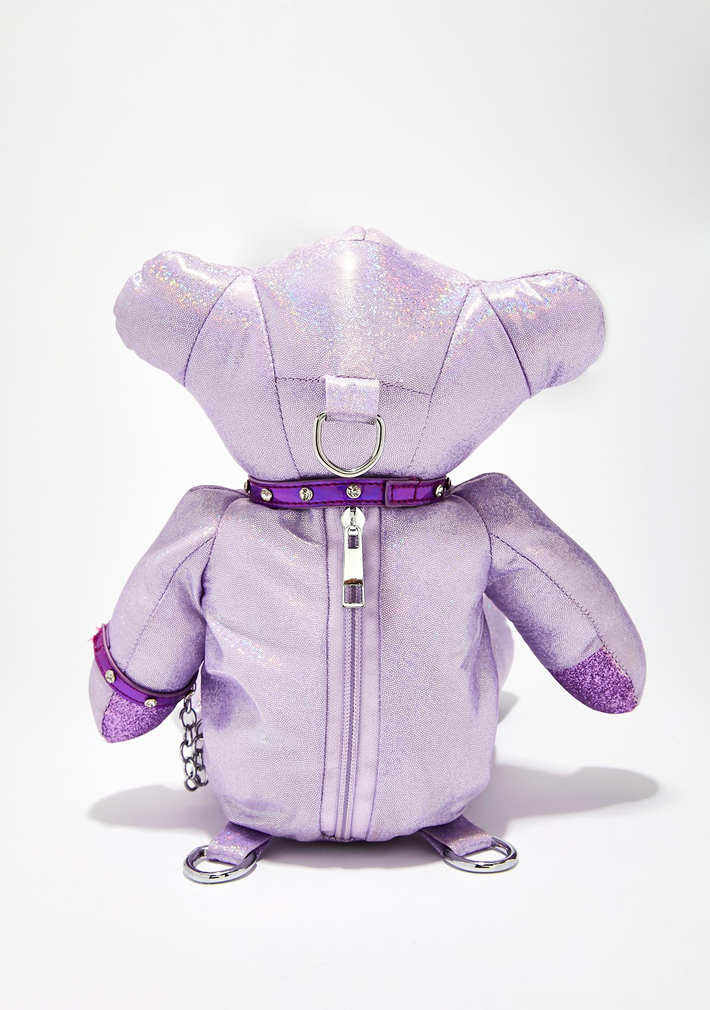 Club Exx Sunrise Sidekick Hologram Backpack