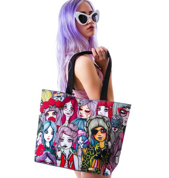 Valfré Flash Mob Classic Tote Bag
