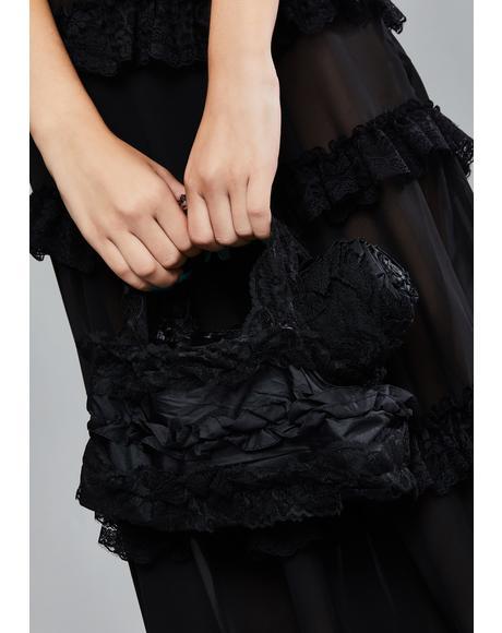 Lolita Lace Telescopic Umbrella