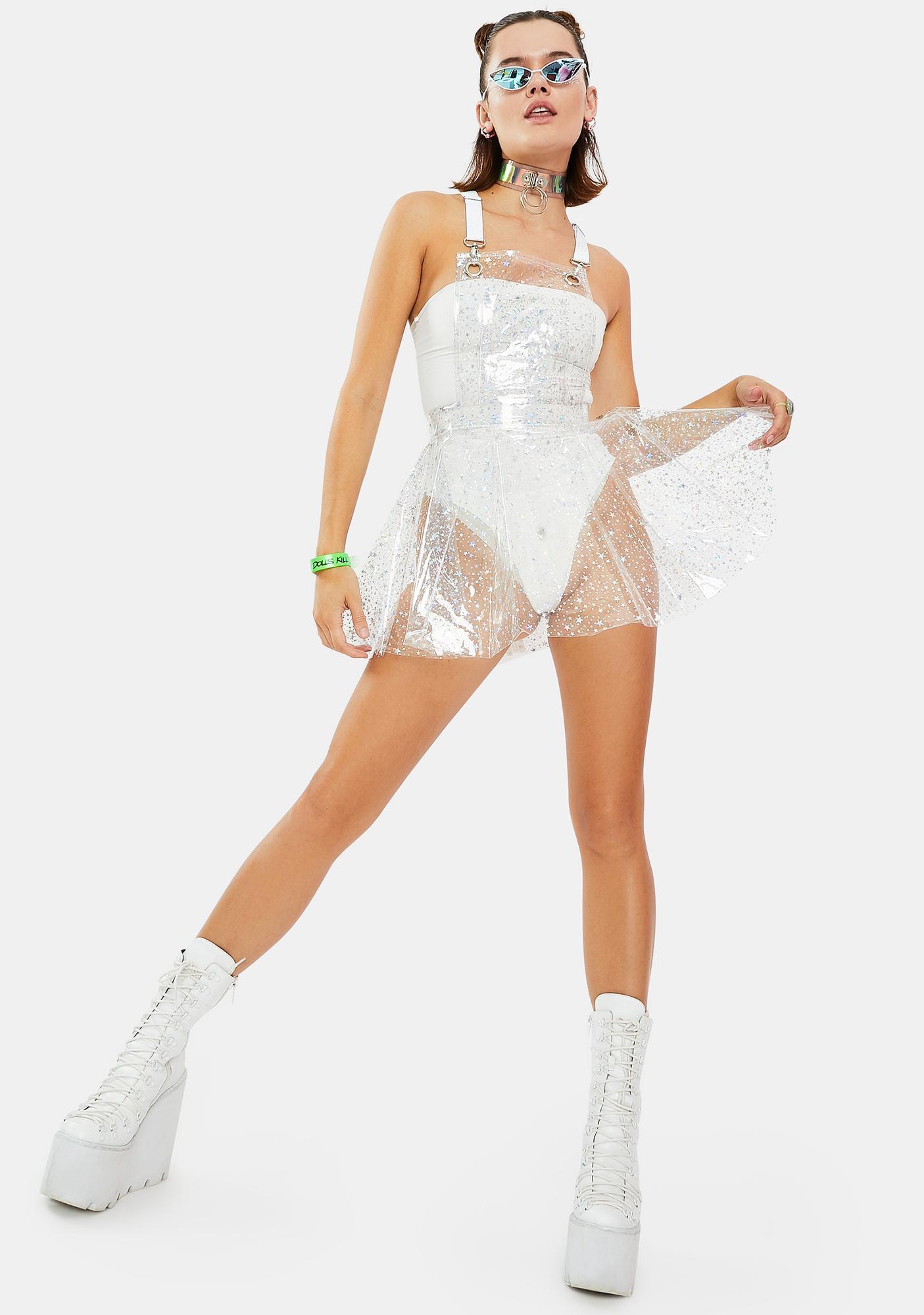 Crystal Clouds PVC Dress