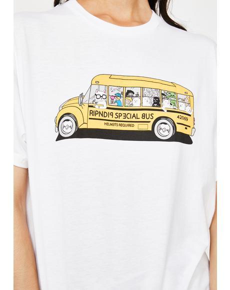 School Bus Graphic Tee