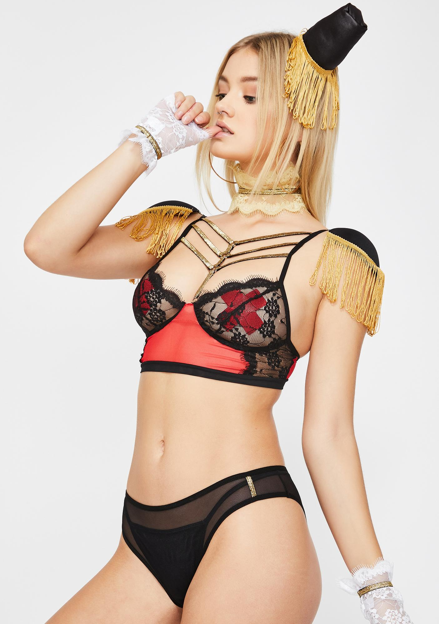 Nutcracker Soldier Lingerie Set