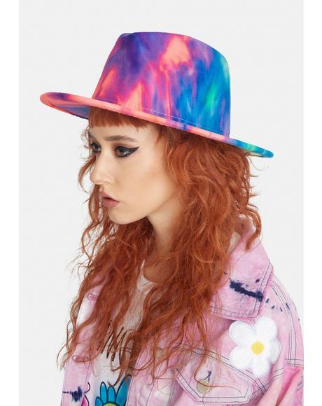 Candy Skies Of Wonder Tie Dye Hat