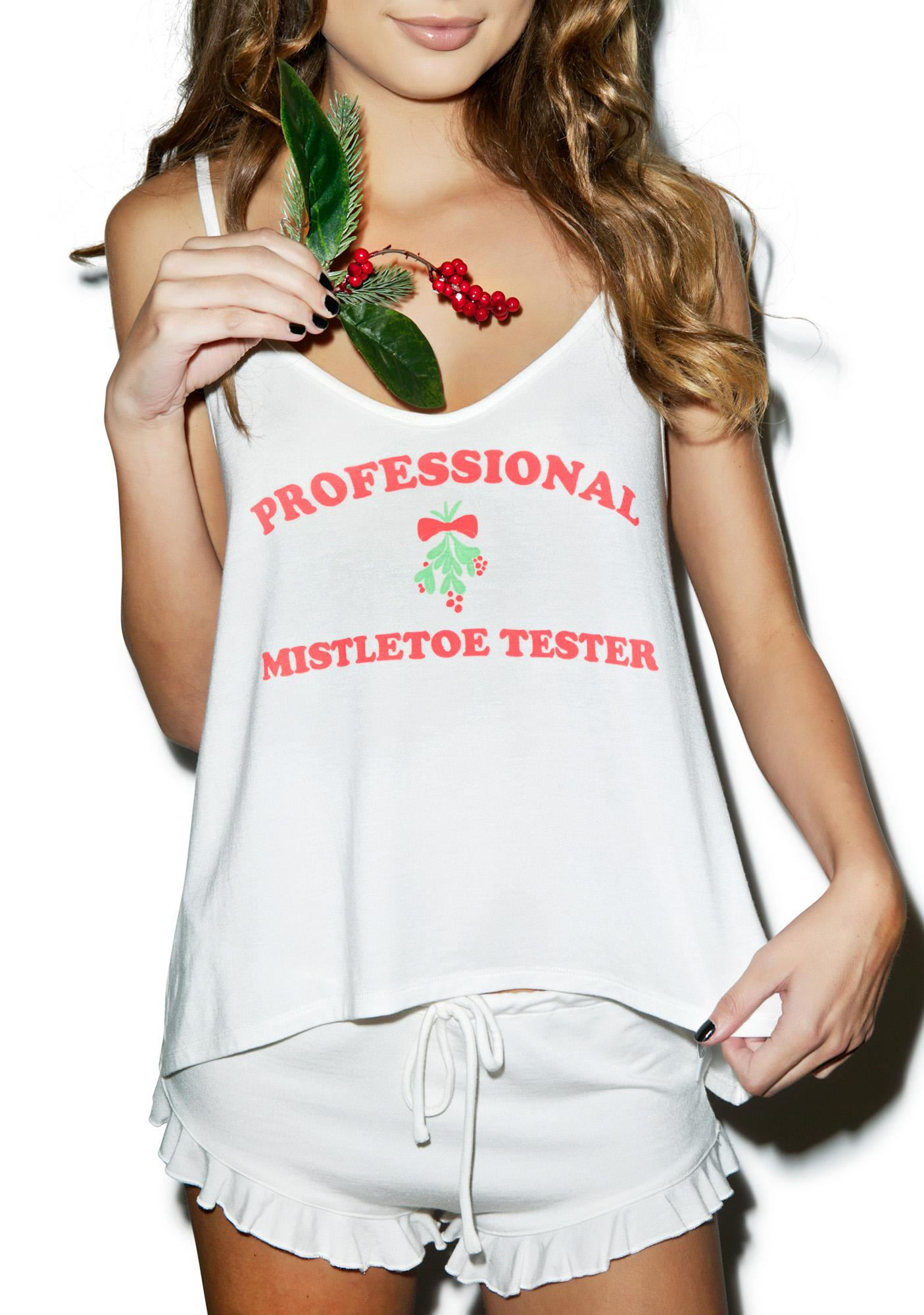 Wildfox Couture Trust Me, I'm A Professional Cami Sleep Set