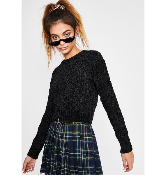 Scuse Me Knit Sweater