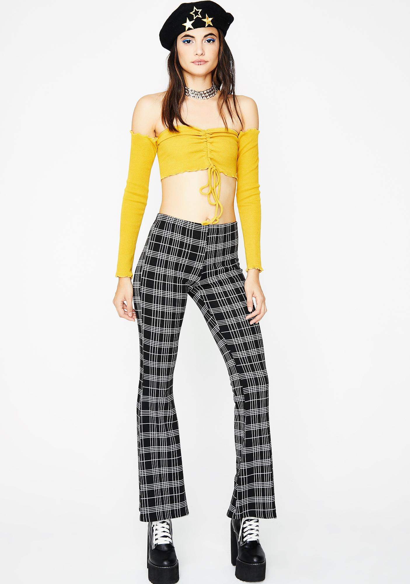 Golden Fresh Start Crop Top