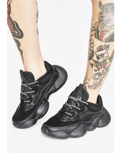 Midnight Saint Supreme Chunky Sneakers