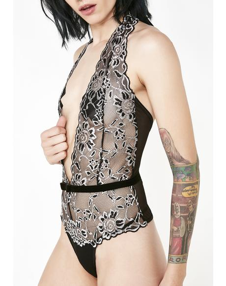 Unholy Night Lace Teddy