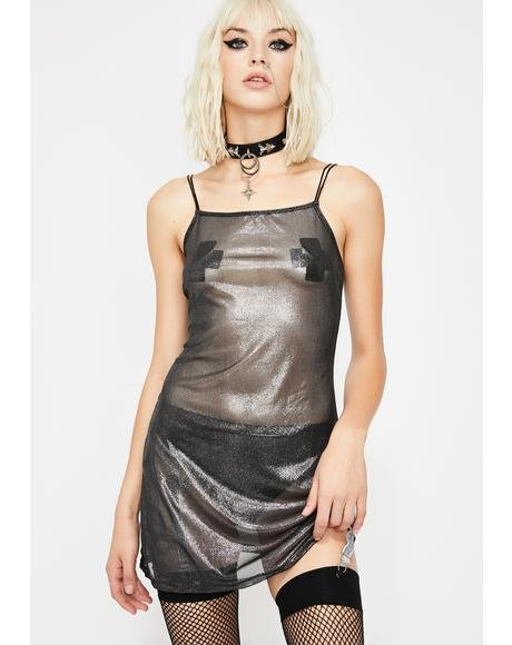 Twist Of Fate Slip Dress