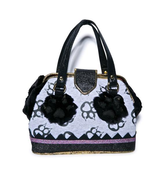 Irregular Choice Pad Around Handbag