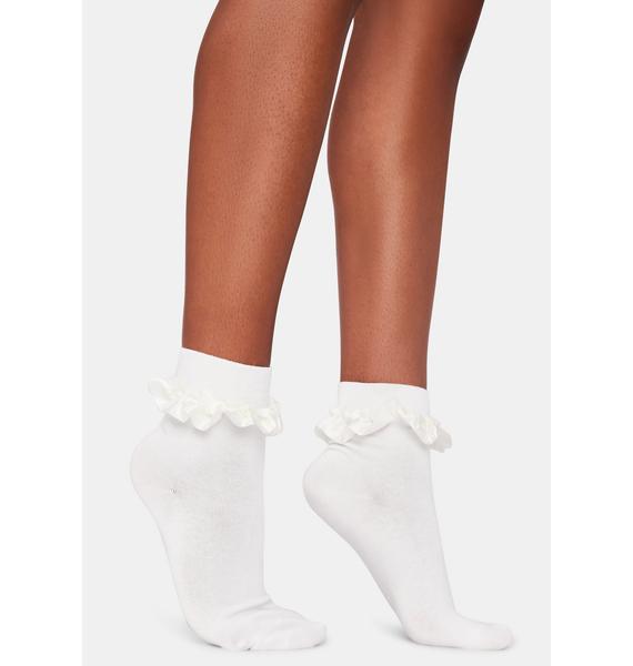 Cupcakes N' Cream Ruffle Ankle Socks