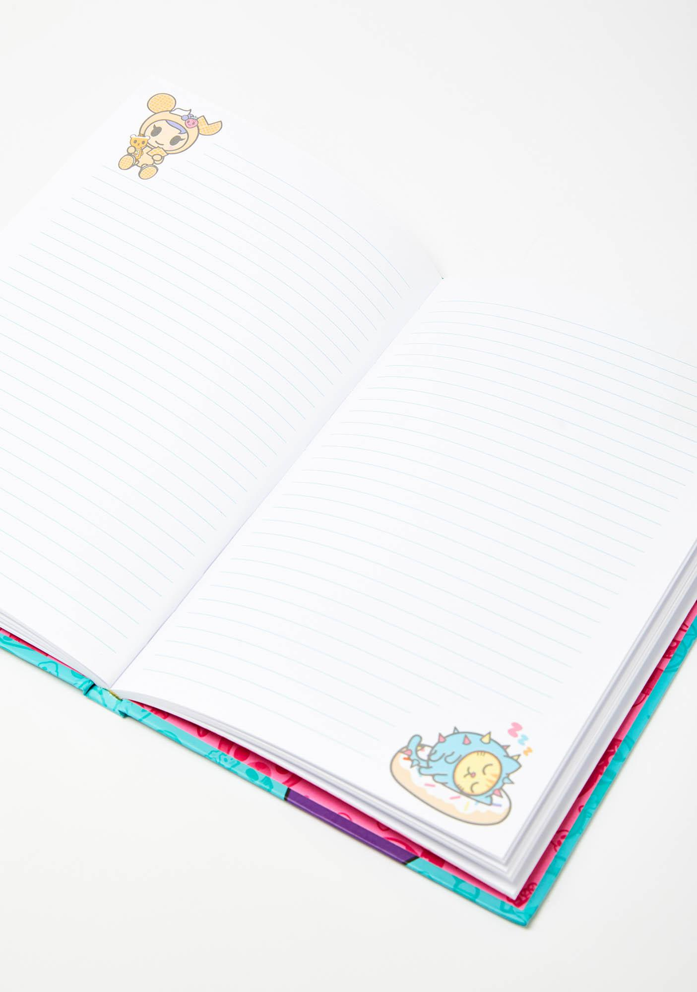 Tokidoki All You Can Eat Hard Cover Notebook