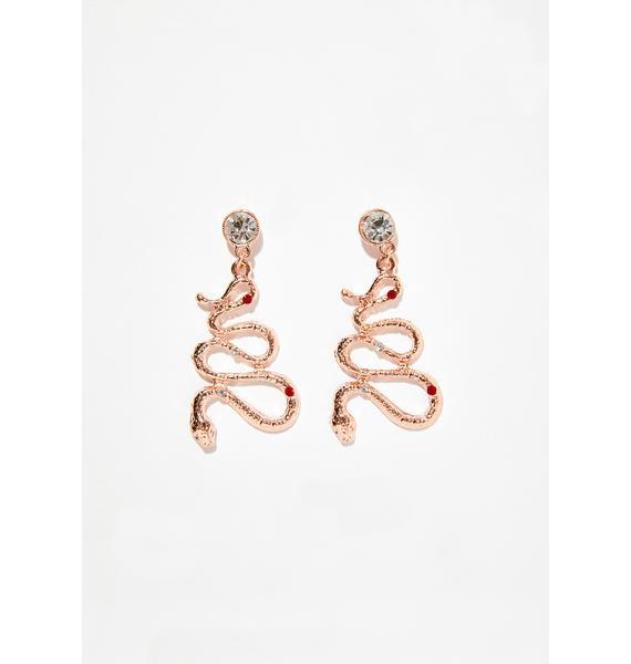 Deadly Sin Snake Earrings