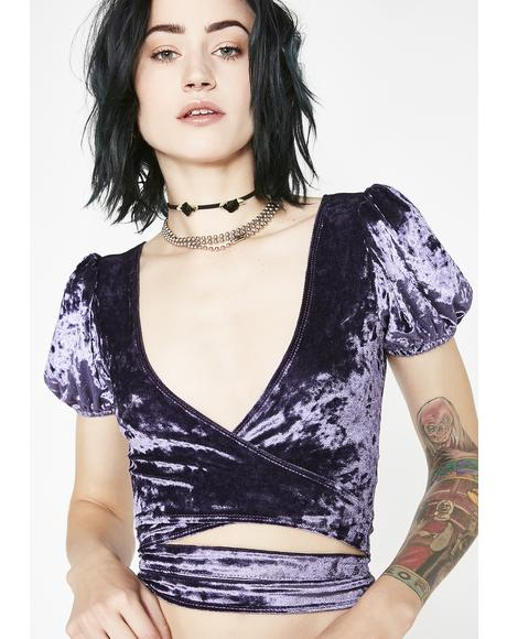 Misfit Magic Velvet Top