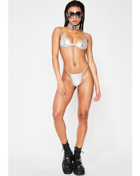 Chrome Valter Bikini Top