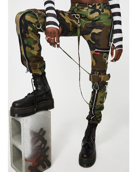 Camo Bondage Pants