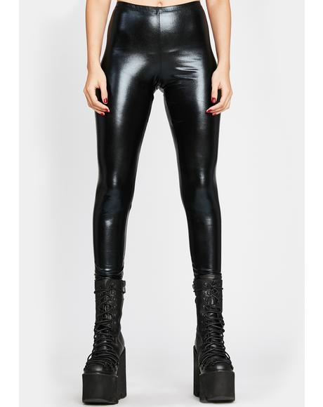Darkwave Vision Vinyl Leggings