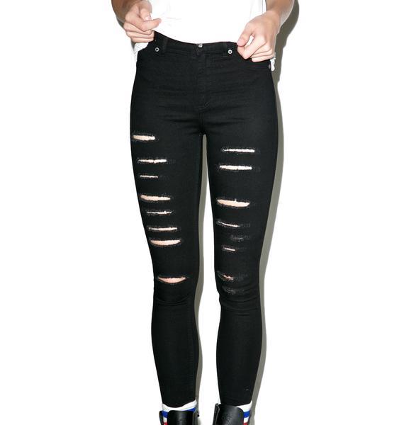 Cheap Monday High Spray Jeans