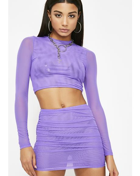 Amethyst Savage Shine Mesh Set