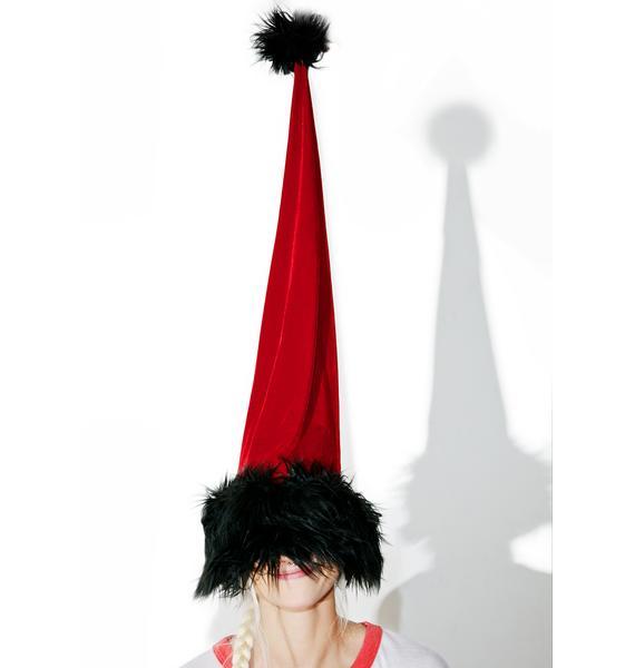 J Valentine Frightful Weather Santa Hat