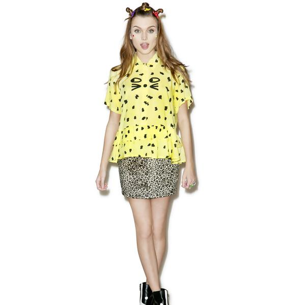 Lazy Oaf Leopard Shirt