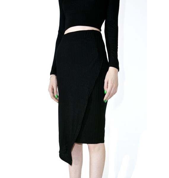 Killstar Get Busy Midi Skirt