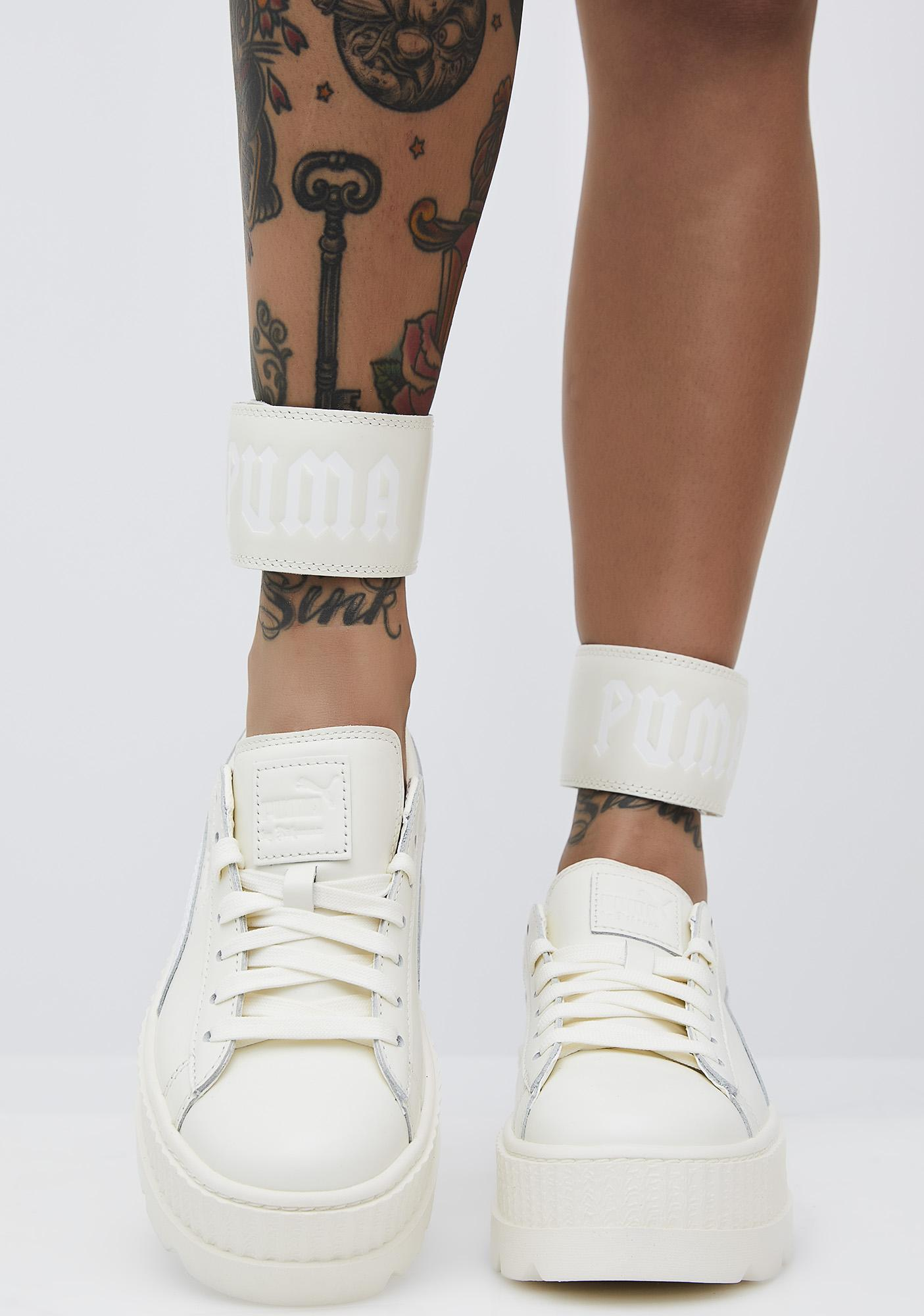 the latest c682a 9d484 Vanilla FENTY PUMA by Rihanna Ankle Strap Sneaker
