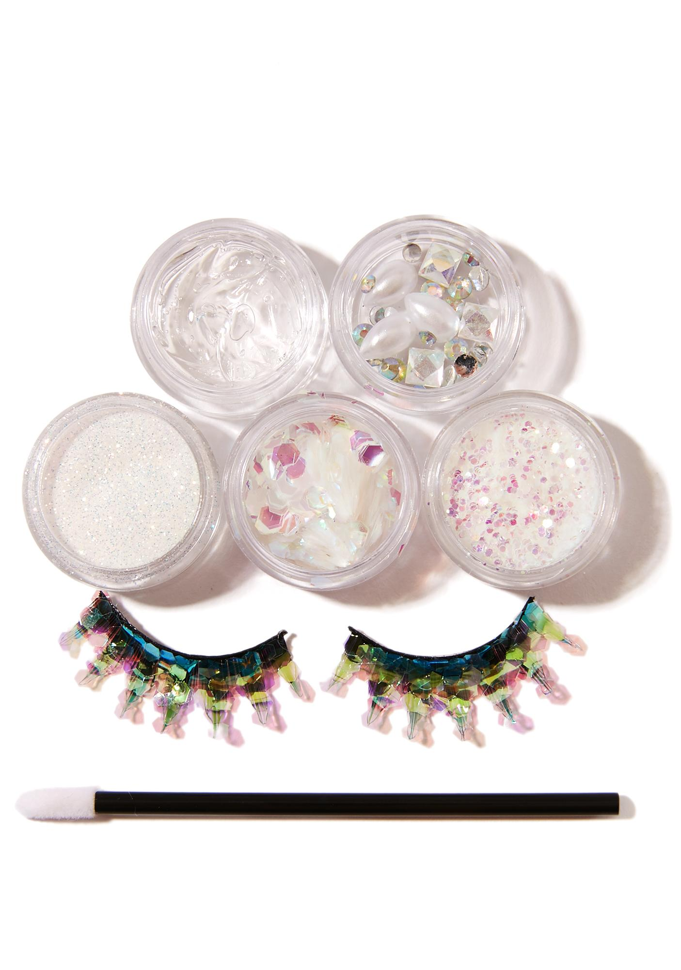 FromNicLove Iridescent Eyelash And Glitter Pack