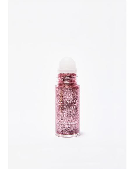 Rose Roll-On Shimmer Body Glitter