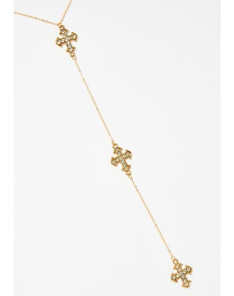 Heavenly Creature Lariat Necklace