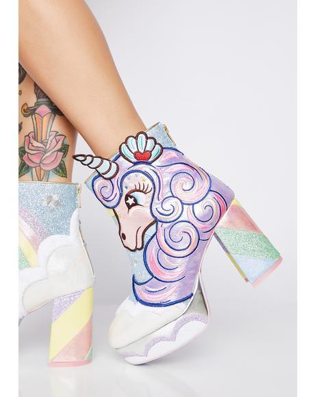 Daisy Dreams Glitter Boots