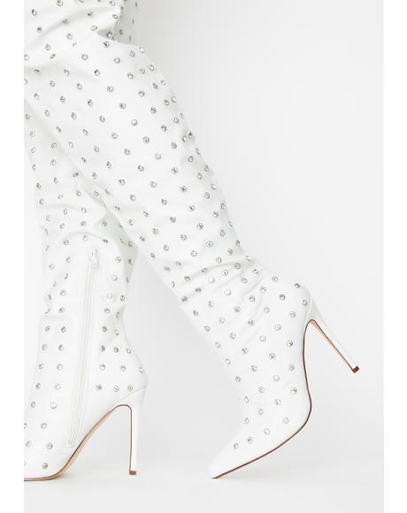 Icy Deal Drippin' Knee High Boots