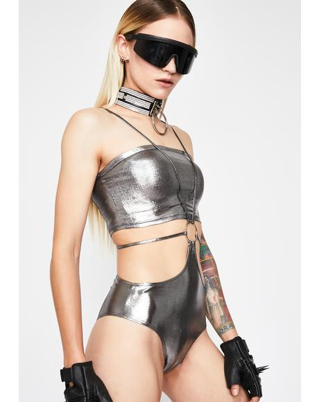 Solar Shock Cut Out Bodysuit