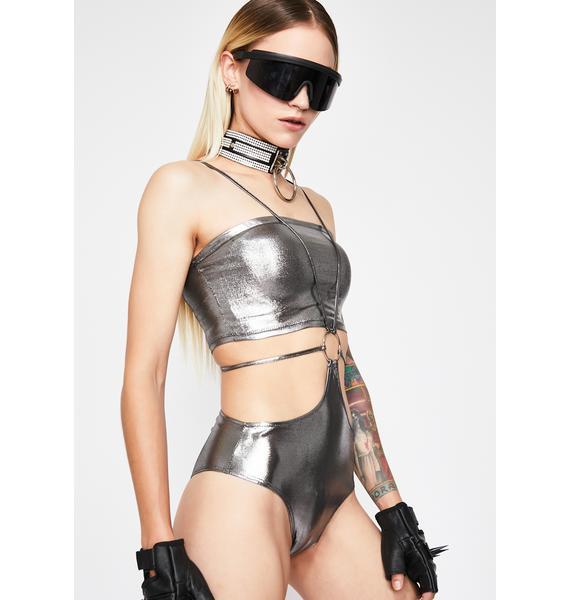 Solar Shock Cut Out Bodysuit