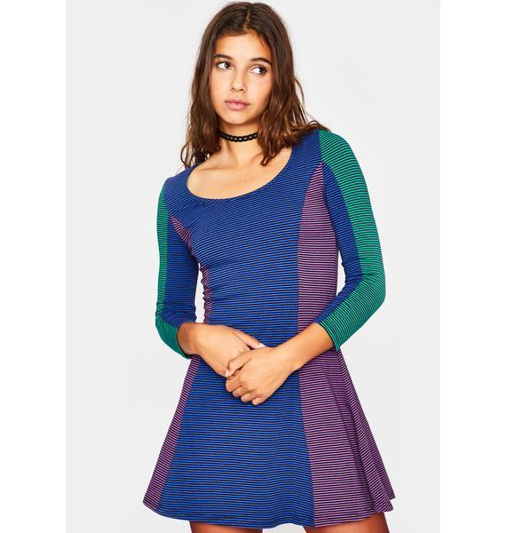 dELiA*s by Dolls Kill Wishful Wallflower Mini Dress