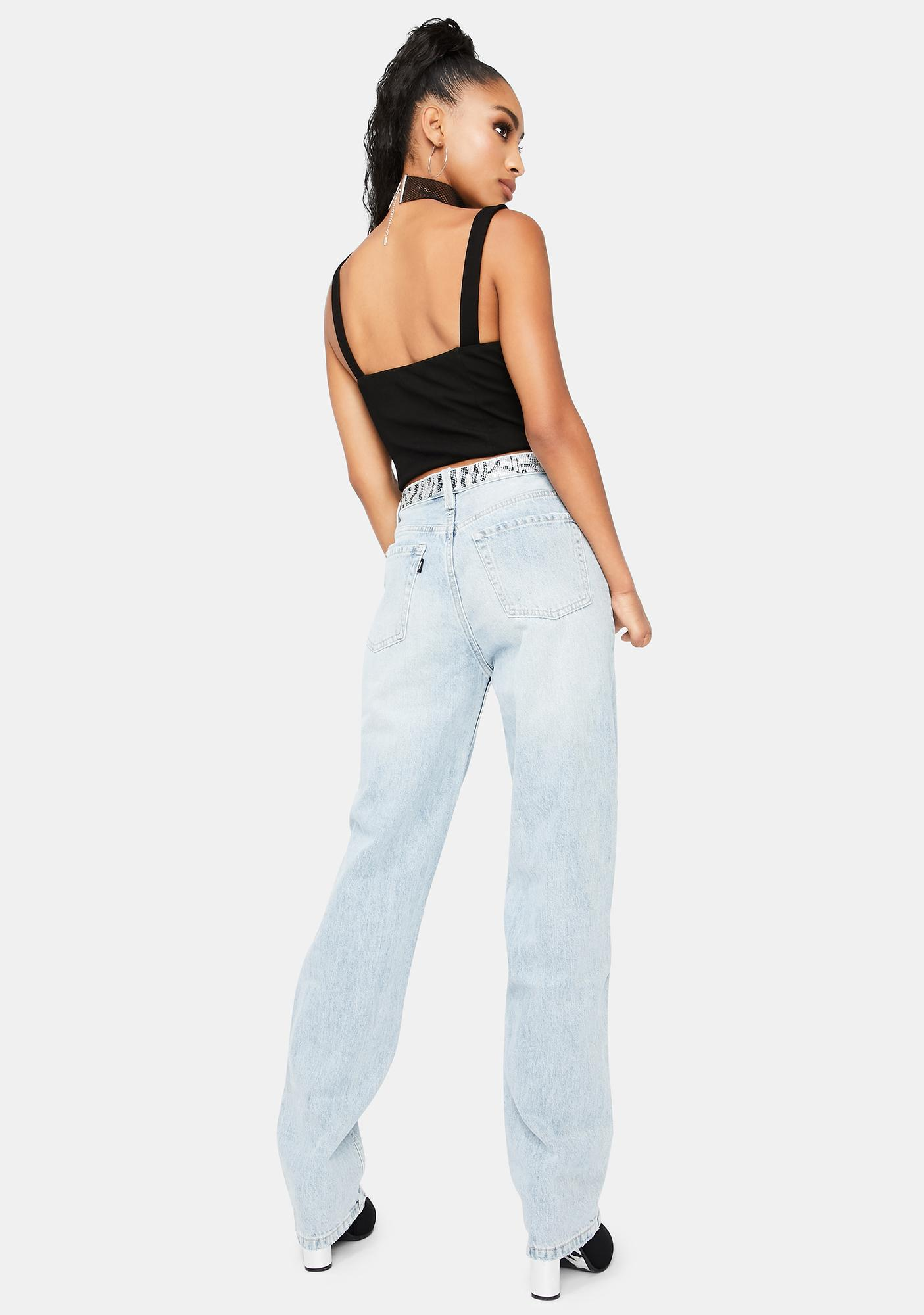 Neon Blonde Lazy Lover Jeans