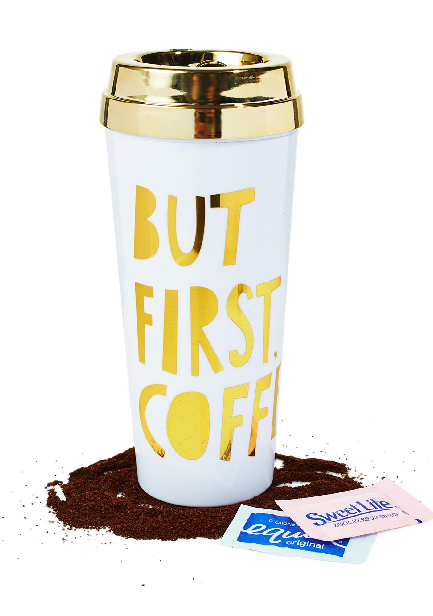 But First, Coffee Thermal Mug