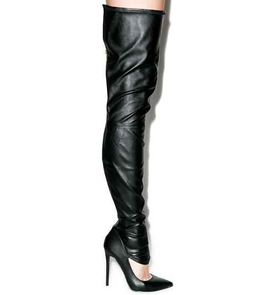 Krash Knee High Boots