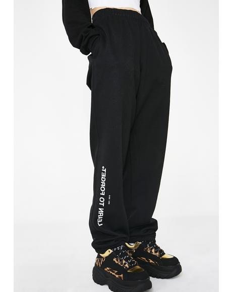 x Champion Fitted Sweatpants