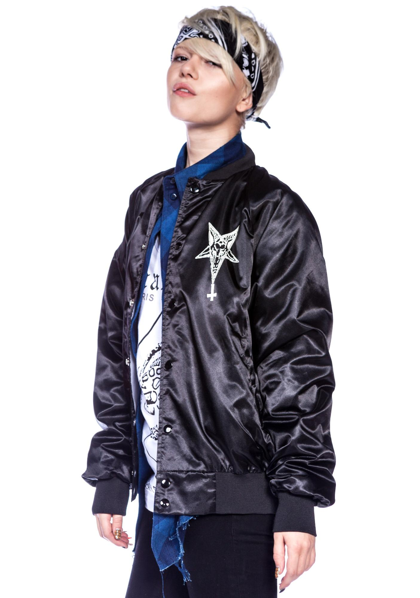 We Don't Die Nylon Snap Jacket